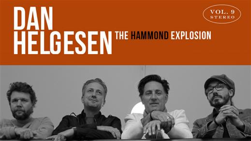 Bild för Dan Helgesen - The Hammond Explosion, 2020-01-11, Nefertiti Jazz Club