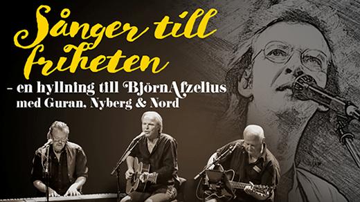 Bild för Guran, Nyberg & Nord–En hyllning till Afzelius, 2021-09-25, Hjalmar Bergman Teatern