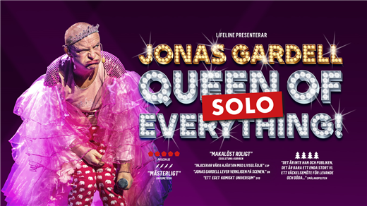 Bild för Jonas Gardell - Queen of f*cking everything - Solo, 2021-02-12, UKK - Stora salen
