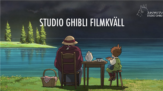 Bild för Studio Ghibli filmkväll, 2021-11-20, Ersboda Folkets Hus