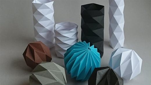 Bild för Origami - grundläggande kurs, 2021-12-04, Östasiastiska museet