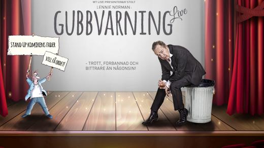 Bild för Lennie Norman - Gubbvarning Live!, 2018-11-07, Stadsteatern Falkenberg