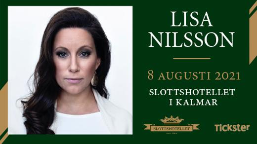 Bild för Lisa Nilsson - Dinnershow, 2021-08-08, Slottshotellet Kalmar