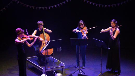 Bild för VINDLA STRING QUARTET – Stråkkvartetten nu och då, 2020-01-19, Teater Salongen