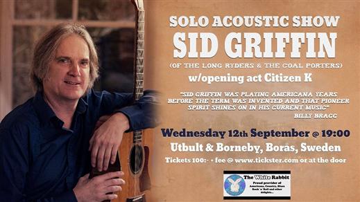 Bild för Sid Griffin Live på Utbult & Borneby, 2018-09-12, Utbult & Borneby