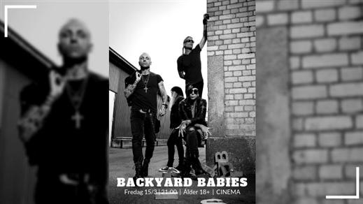 Bild för Backyard Babies + Support Satan Takes A Holiday, 2019-03-15, Cinema