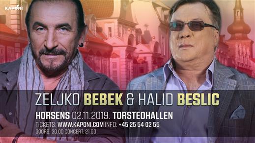 Bild för Halid Beslic & Zeljko Bebek - Horsens, 2019-11-02, Torstedhallen