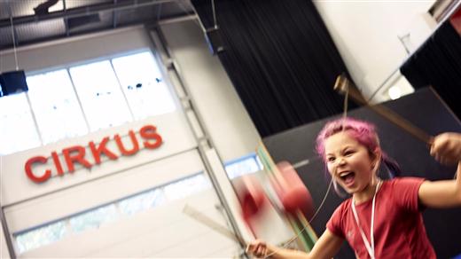 Bild för Träna med Cirkus Cirkör, Nycirkus och Parkour, 2018-06-25, Globen