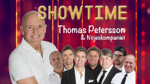 Bild för Showtime med Thomas Petersson och Nöjeskomp. 18/10, 2020-10-18, Sundspärlan