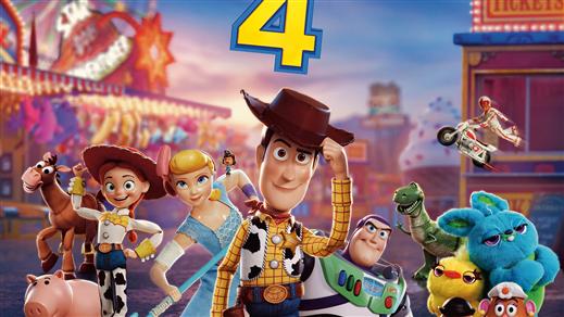 Bild för Toy Story 4 2D (Sv. tal), 2019-08-30, Bräcke Folkets hus