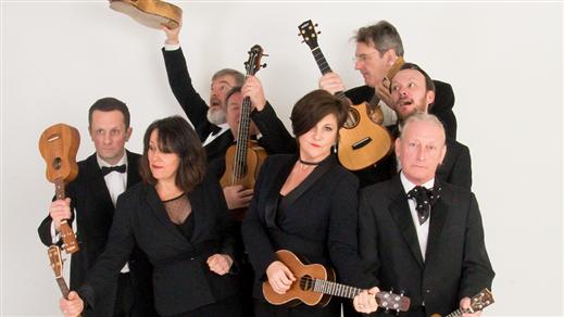 Bild för The Ukulele Orchestra of Great Britain, 2022-02-19, UKK - Stora salen