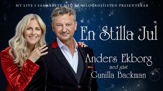 Bild för EN STILLA JUL med ANDERS EKBORG, 2021-12-01, Gustav Adolfs Kyrka