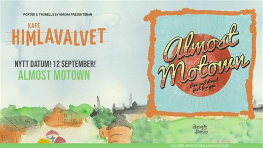Bild för Almost Motown, 2021-09-12, Kafé Himlavalvet