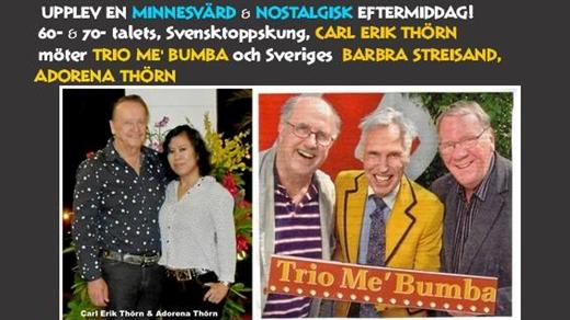 Bild för Carl Erik Thörn  möter Trio Mé Bumba, 2018-07-15, PiratenTeatern