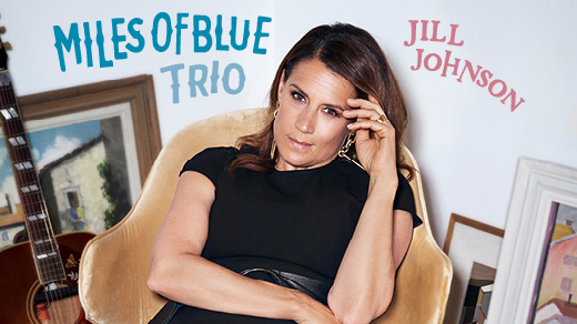 Bild för Jill Johnson - Miles Of Blue Trio, 2021-08-06, Mosebacketerrassen
