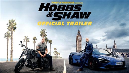 Bild för Fast & Furious: Hobbs & Shaw, 2019-08-02, Biosalongen Folkets Hus