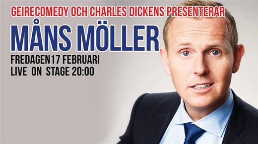 Bild för Måns Möller gästar Dickens, 2017-02-17, Charles Dickens Pub & Restaurang