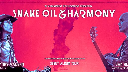 Bild för Snake Oil and Harmony, 2020-03-04, RESTAURANG TRÄDGÅR'N