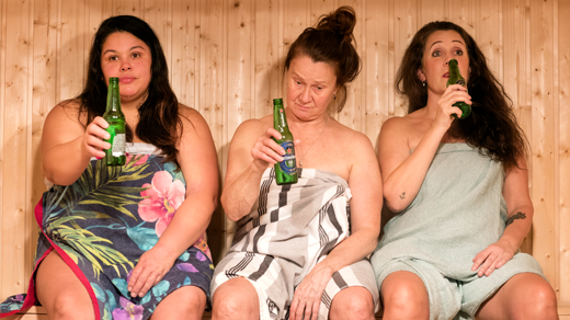 Bild för Bastuklubben, 2020-12-14, Lilla scenen Orionteatern