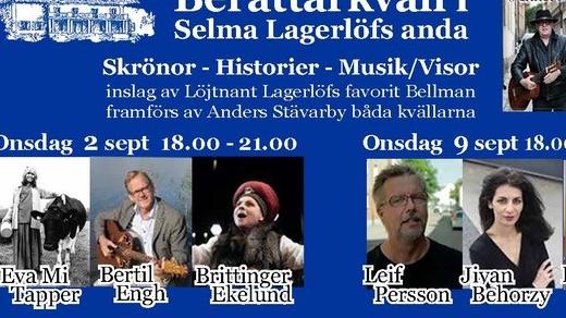 Bild för Berättarkväll på Mårbacka, 2020-09-02, Mårbacka Minnesgård
