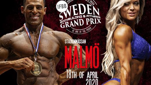 Bild för Sweden Grand Prix 2020 & IFBB Elite Pro, 2020-09-05, Stadionmässan