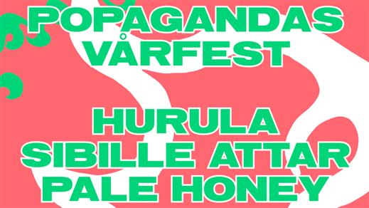 Bild för Popagandas Vårfest, 2018-03-24, Färgfabriken