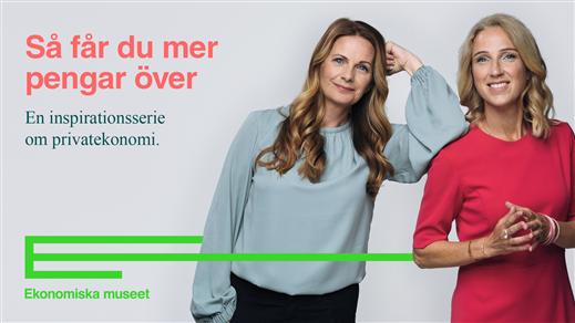 Bild för Så får du mer pengar över, 2021-09-22, Ekonomiska museet – Kungliga myntkabinettet