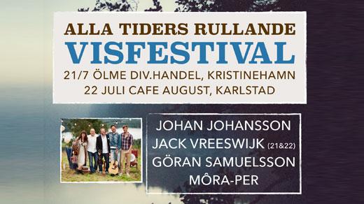 Bild för Alla tiders rullande Visfestival, 2017-07-22, Karlstad, Café August