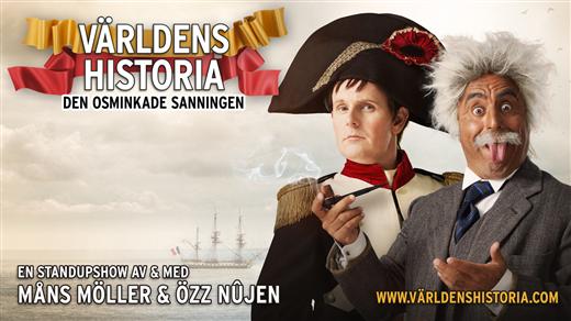 Bild för Özz Nûjen&Måns Möller Världens historia, 2021-08-26, Konsertsalen Culturum