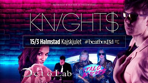 Bild för BeatboxLtd - Knight$, Octolab m fl - Live, 2019-03-15, Kajskjulet