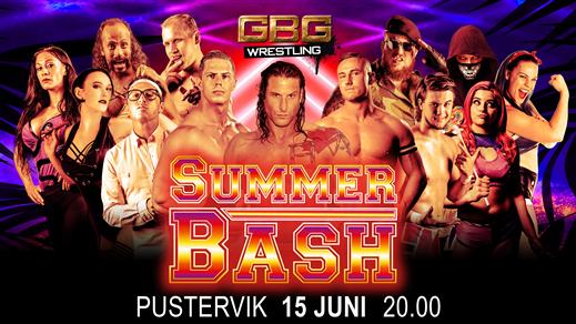 Bild för GBG Wrestling - Summer Bash, 2019-06-15, Pustervik