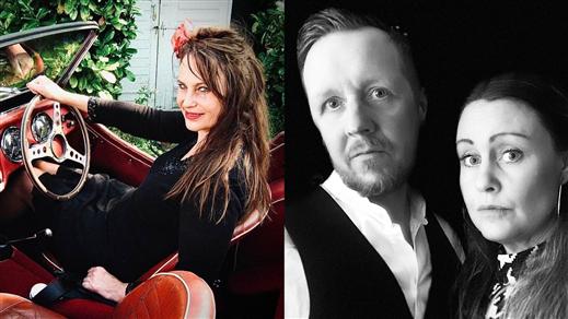 Bild för Ingrid Savbrant Band + The Harmony Aviators, 2021-10-27, medley – musik, mat & mer