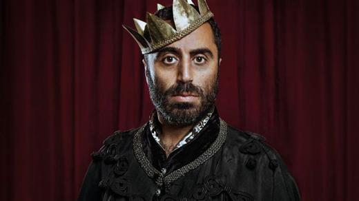 Bild för Özz Nûjen är Richard III, 2017-02-01, Folkets Hus Gusum BIO