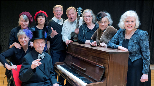 Bild för Musikteater Karl Gerhard, 2018-10-20, Kulturum | Stora scenen