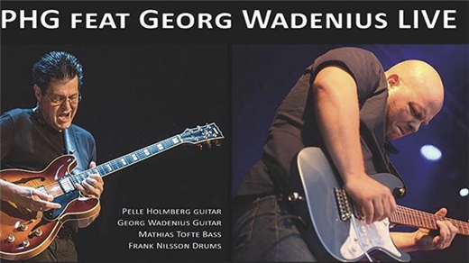 Bild för PHG feat. Georg 'Jojje' Wadenius - Live!, 2020-03-20, Biografbaren