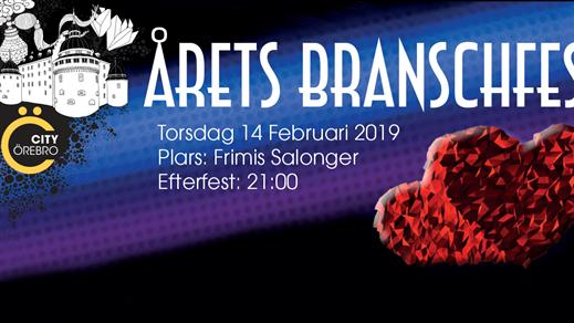 Bild för Årets Branschfest, 2019-02-14, Frimis Salonger Örebro