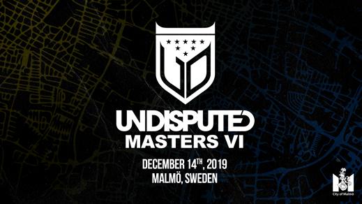 Bild för Undisputed Masters VI, 2019-12-14, Moriska Paviljongen