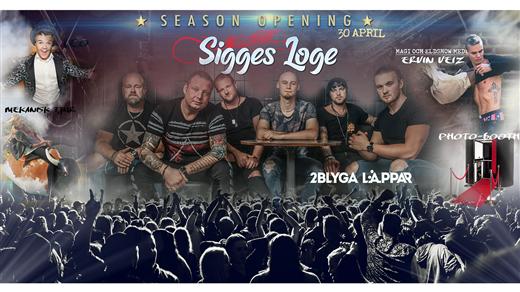 Bild för Season opening 2020, 2020-04-30, Sigges Loge