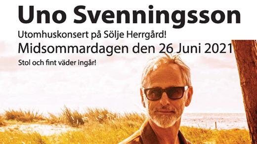 Bild för Uno Svenningsson, 2021-06-26, Sölje Gård