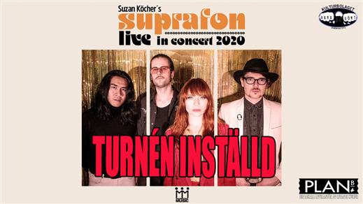 Bild för SUZAN KÖCHER´S SUPRAFON, 2020-03-20, Plan B