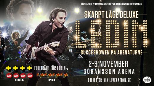 Bild för LEDIN – SKARPT LÄGE – 3/11-2018, 2018-11-03, Göransson Arena / Konsert