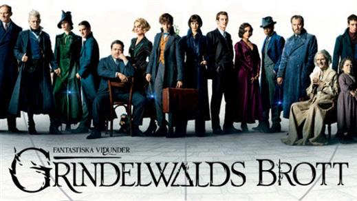Bild för Fantastiska vidunder: Grindelwalds brott, 2018-11-18, Bio Oskar