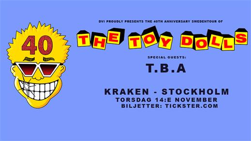 Bild för The Toy Dolls + support, 2019-11-14, Kraken STHLM