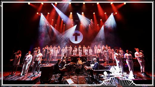 Bild för Tensta Gospel Choir | Parksnäckan, 2018-06-30, Parksnäckan, Stadsträdgården