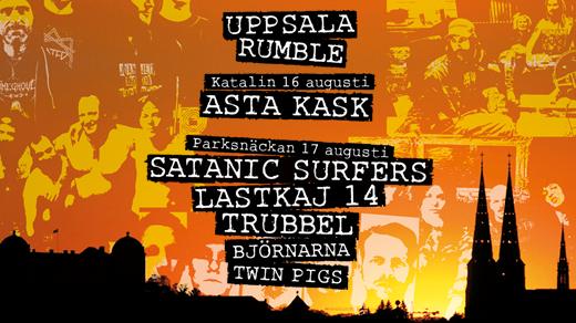 Bild för Uppsala Rumble | Parksnäckan, 2019-08-16, Parksnäckan, Stadsträdgården
