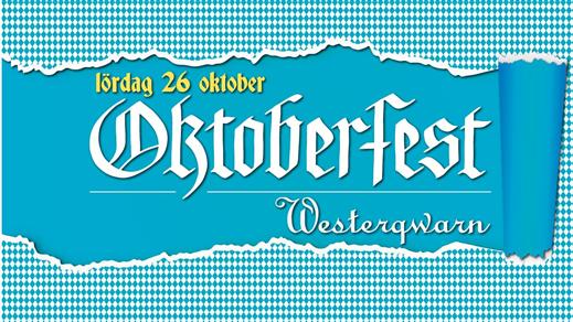 Bild för Oktoberfest 2019, 2019-10-26, Westerqwarn Pub & Restaurang