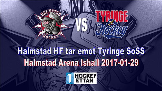 Bild för Halmstad HF vs. Tyringe SoSS, 2017-01-29, Halmstad Arena