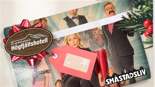 Bild för Småstadsliv  går på krogen 2.0 Showbiljett, 2021-12-03, Vemdalskalets Högfjällshotell