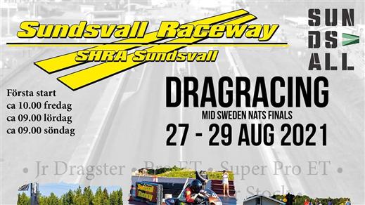 Bild för Dragracing 28-29 augusti 2021, 2021-08-28, Sundsvall Raceavay
