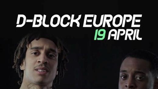 Bild för D BLOCK EUROPE, 2019-04-19, Kraken